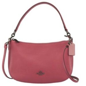 NWT! COACH Pink Leather Chelsea Bag